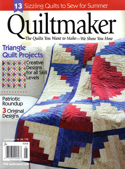 Quiltmaker Cover - 7/1/2016
