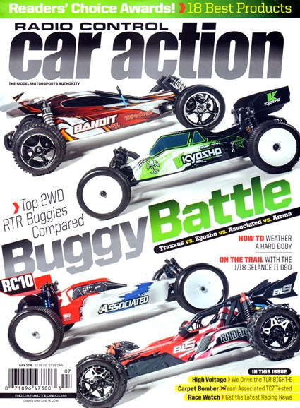 Radio Control Car Action Cover - 7/1/2016