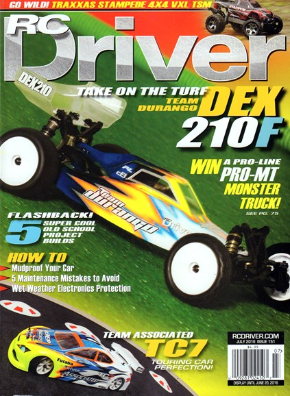 RC Driver Cover - 7/1/2016