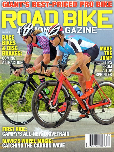 Road Bike Action Cover - 7/1/2016