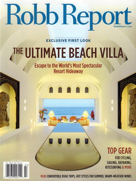 Robb Report Cover - 7/1/2016