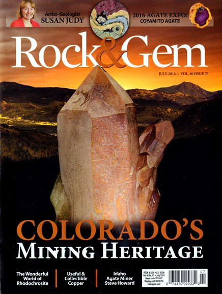 Rock & Gem Cover - 7/1/2016