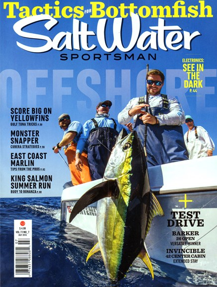 Salt Water Sportsman Cover - 7/1/2016