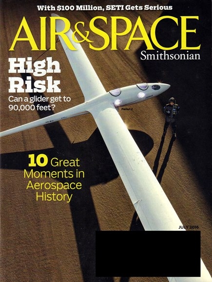 Air & Space Cover - 7/1/2016