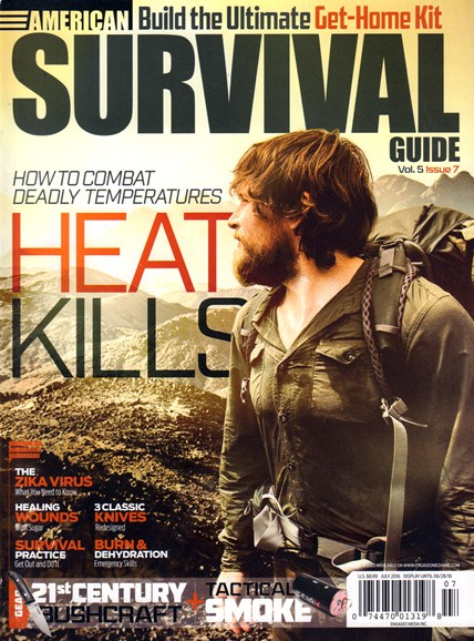 American Survival Guide Cover - 7/1/2016