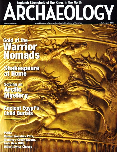 Archaeology Cover - 7/1/2016