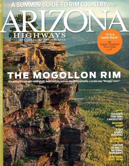 Arizona Highways Cover - 7/1/2016