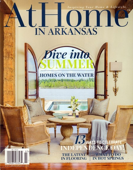 At Home In Arkansas Cover - 7/1/2016