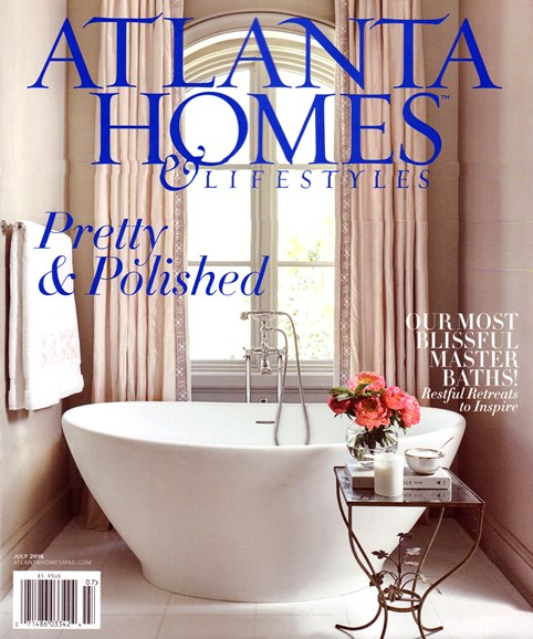 Atlanta Homes & Lifestyles Cover - 7/1/2016