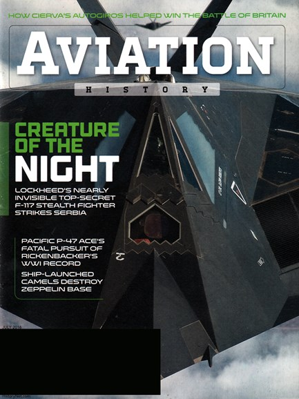 Aviation History Cover - 7/1/2016