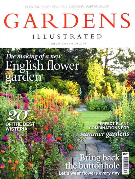 Gardens Illustrated Cover - 6/1/2016