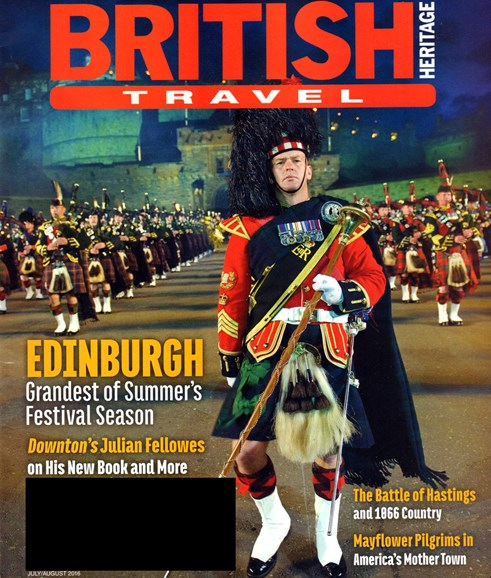 British Heritage Travel Cover - 7/1/2016