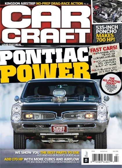Car Craft Cover - 7/1/2016