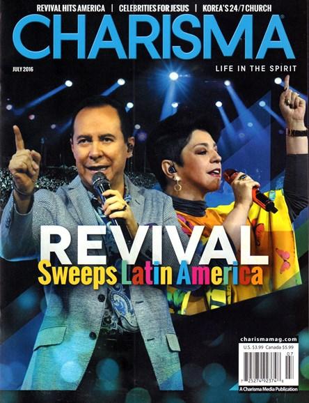 Charisma Cover - 7/1/2016