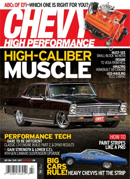 Chevy High Performance Cover - 7/1/2016