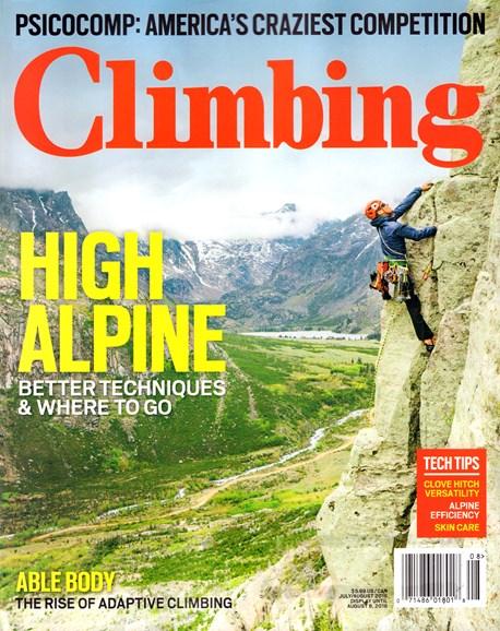 Climbing Magazine Cover - 7/1/2016