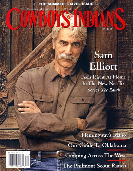 Cowboys & Indians Cover - 7/1/2016