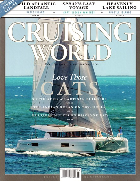 Cruising World Cover - 7/1/2016