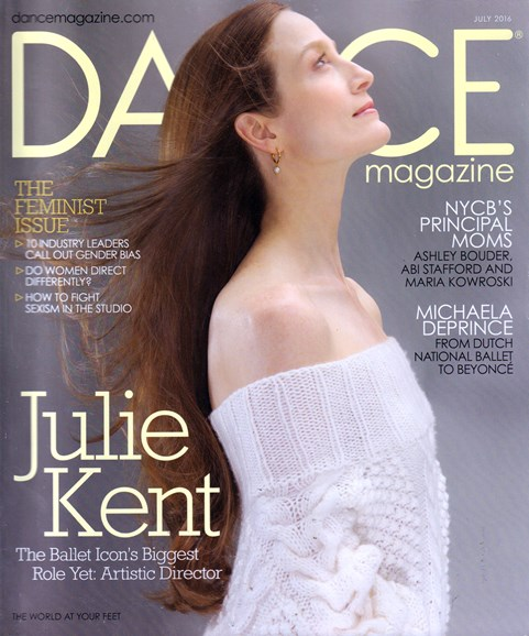 Dance Magazine Cover - 7/1/2016