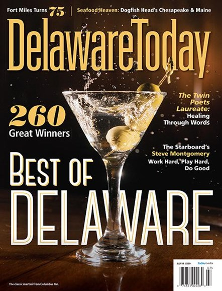 Delaware Today Cover - 7/1/2016