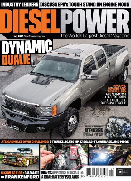 Diesel Power Cover - 7/1/2016
