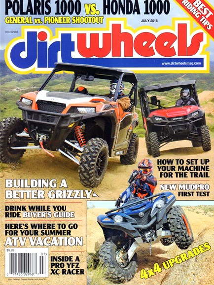 Dirt Wheels Cover - 7/1/2016