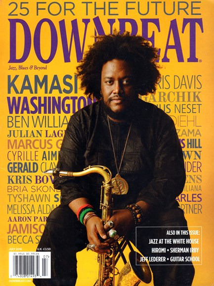 DownBeat Cover - 7/1/2016