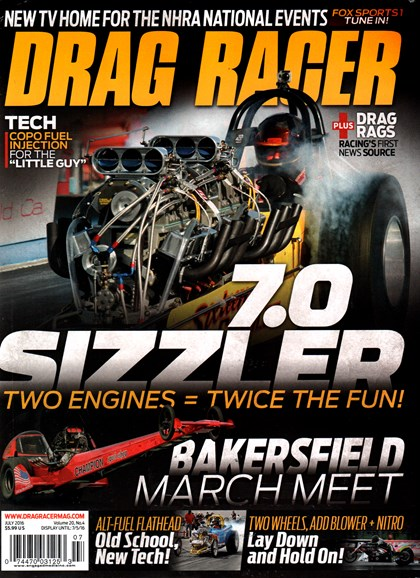 Drag Racer Cover - 7/1/2016