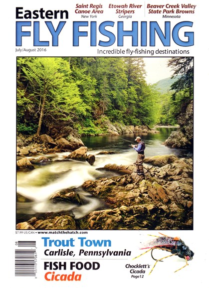 Eastern Fly Fishing Cover - 7/1/2016