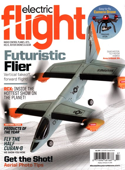Electric Flight Cover - 7/1/2016