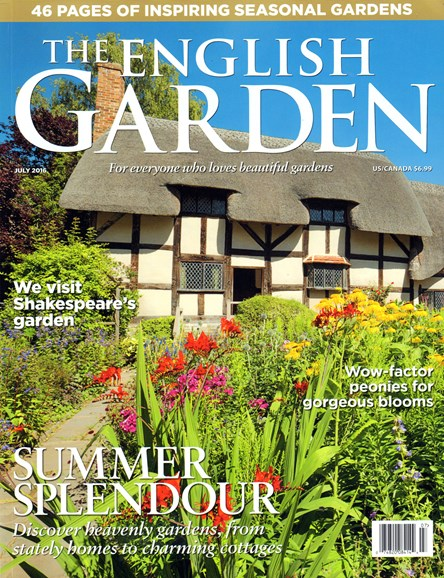 The English Garden Cover - 7/1/2016
