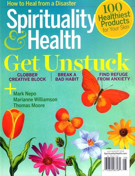 Spirituality & Health Cover - 7/1/2016