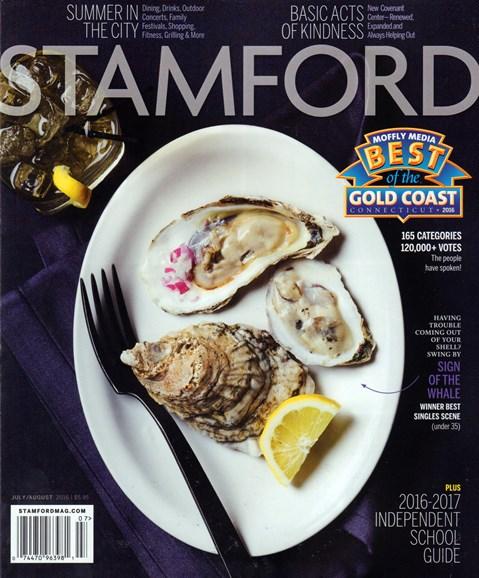 Stamford Magazine Cover - 7/1/2016