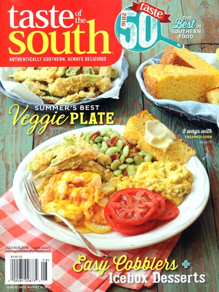 Taste of the South Cover - 7/1/2016
