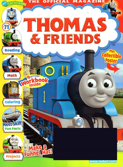 Thomas & Friends Cover - 7/1/2016