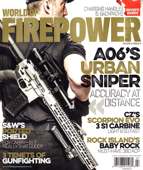 World of Firepower Cover - 7/1/2016