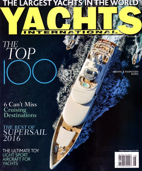 Yachts International Cover - 7/1/2016