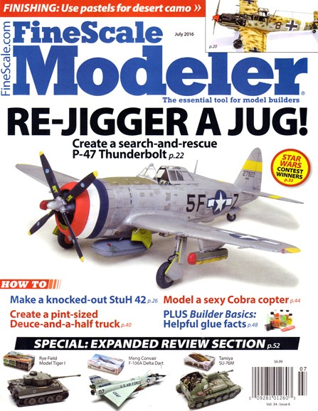 Finescale Modeler Cover - 7/1/2016