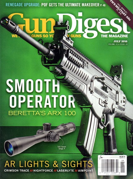 Gun Digest Cover - 7/1/2016