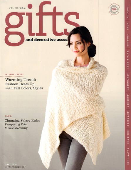 Gifts And Decorative Accessories Cover - 7/1/2016