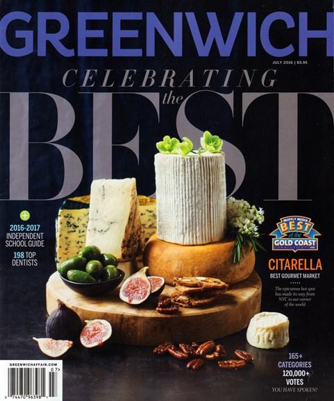 Greenwich Cover - 7/1/2016
