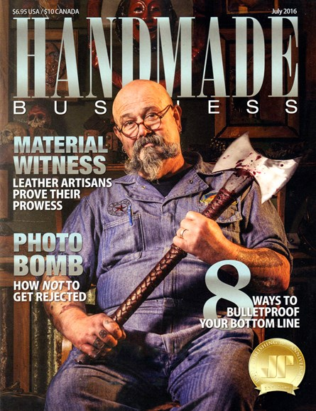 Handmade Business Cover - 7/1/2016