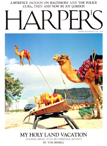 Harper's Cover - 7/1/2016