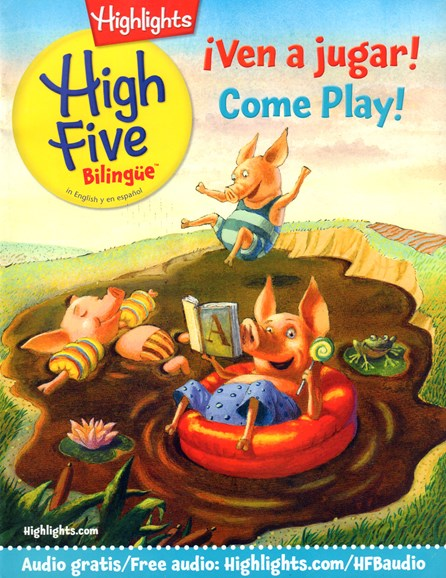 Highlights High Five Bilingue Cover - 7/1/2016