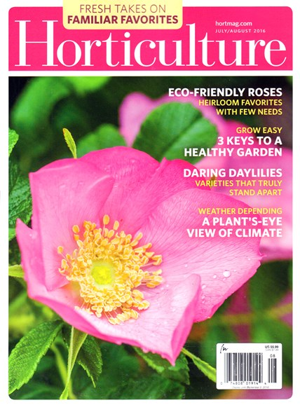 Horticulture Cover - 7/1/2016