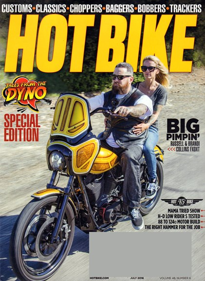 Hot Bike Cover - 7/1/2016