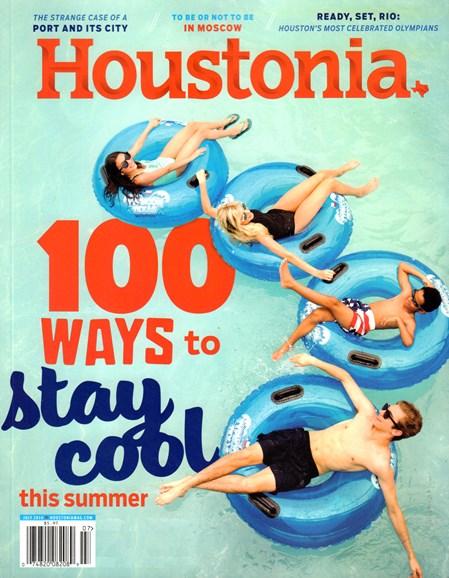 Houstonia Cover - 7/1/2016