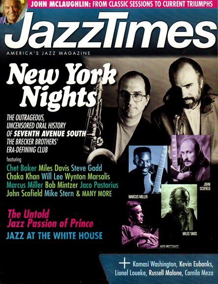 JazzTimes Cover - 7/1/2016