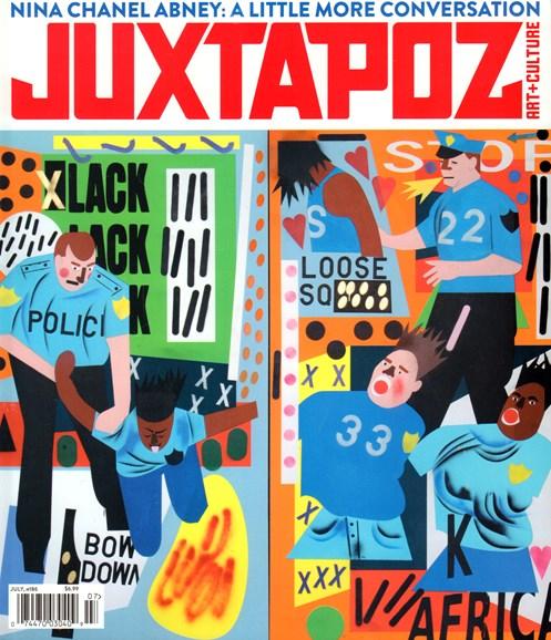 Juxtapoz Cover - 7/1/2016