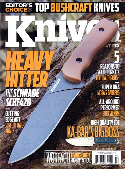 Knives Illustrated Cover - 7/1/2016